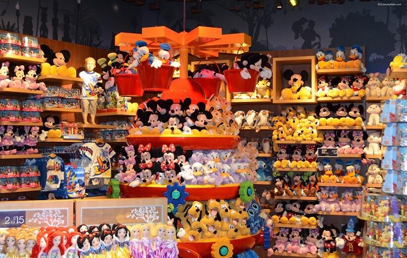 Lojas Disney Store em Orlando