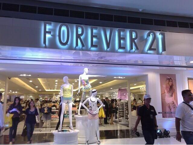 Lojas Forever 21 em Orlando