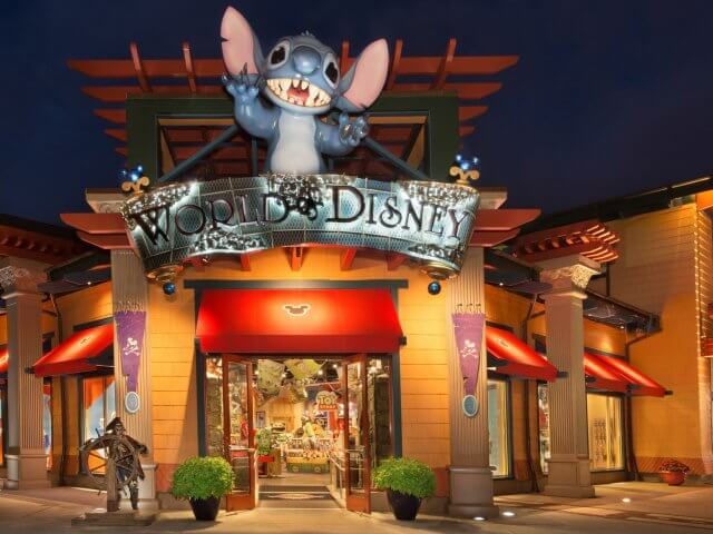 World of Disney, a maior loja Disney de Orlando