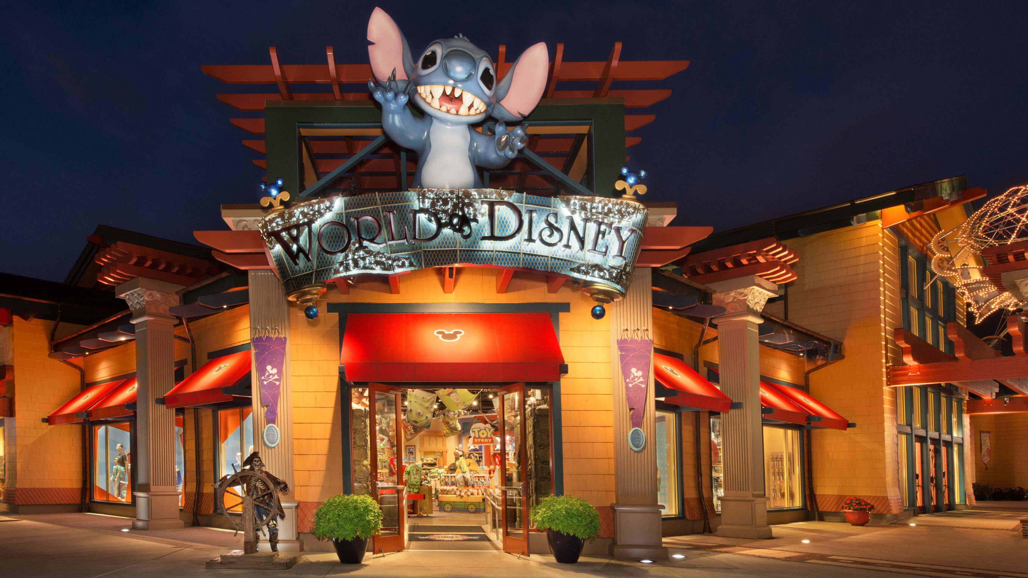 Lojas Disney Store em Orlando: World of Disney