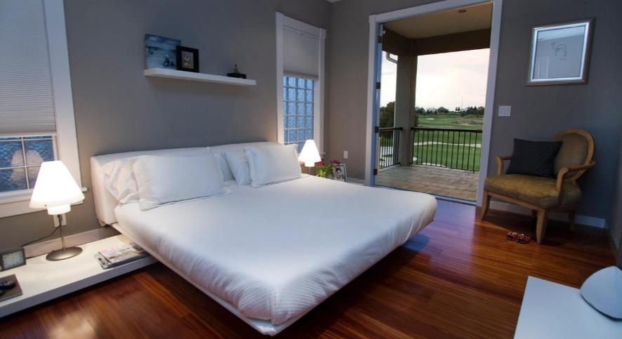 Aluguel de casas em Orlando: quarto