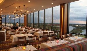 Melhores restaurantes dos hotéis da Disney em Orlando: restaurante California Grill