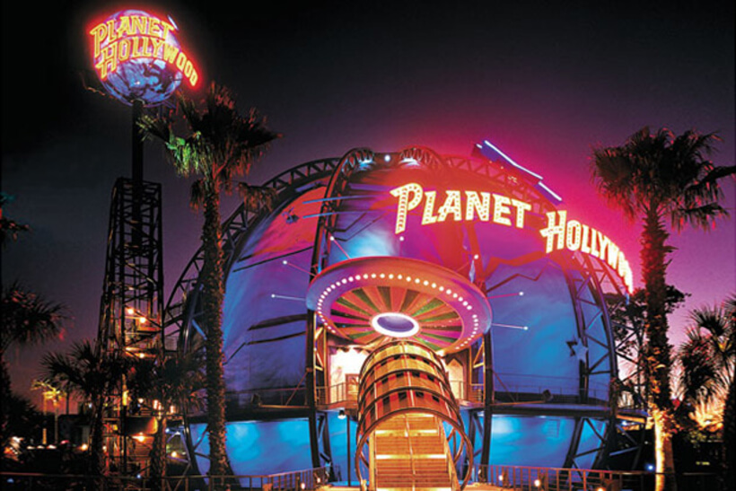 Restaurante Planet Hollywood na Disney Orlando