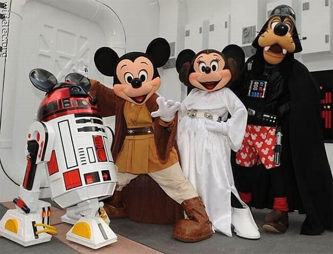 Star Wars na Disney Orlando