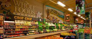 Supermercado natural Whole Foods em Orlando: market