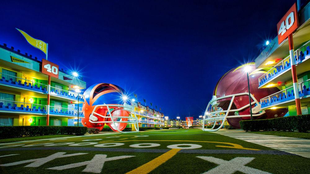 Hotel Disney All Star Sports em Orlando 1