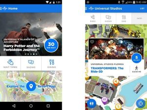Aplicativos úteis para a Disney e Orlando: Universal Orlando