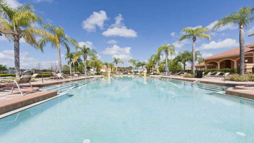 Casas para alugar perto da Disney por temporada: Condomínio de casas Bella Vida Resort