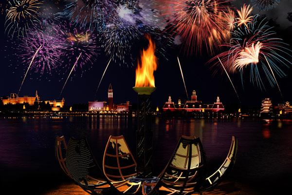 Melhores lugares para assistir aos shows da Disney Orlando: IllumiNations: Reflections of Earth no Disney Epcot