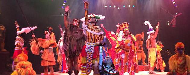 Shows, paradas e apresentações no parque Disney Animal Kingdom Orlando: Festival of the Lion King