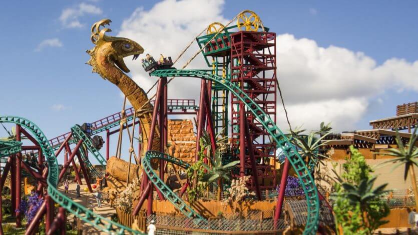 Ingressos e combos do Busch Gardens Tampa: montanha-russa