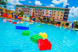 Hotel da Lego em Orlando: piscina