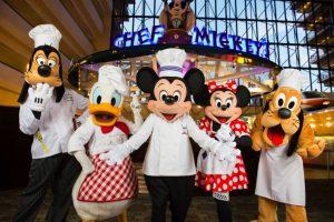 7 jantares com personagens Disney e Universal em Orlando: Restaurante DisneyChef's Mickey Orlando