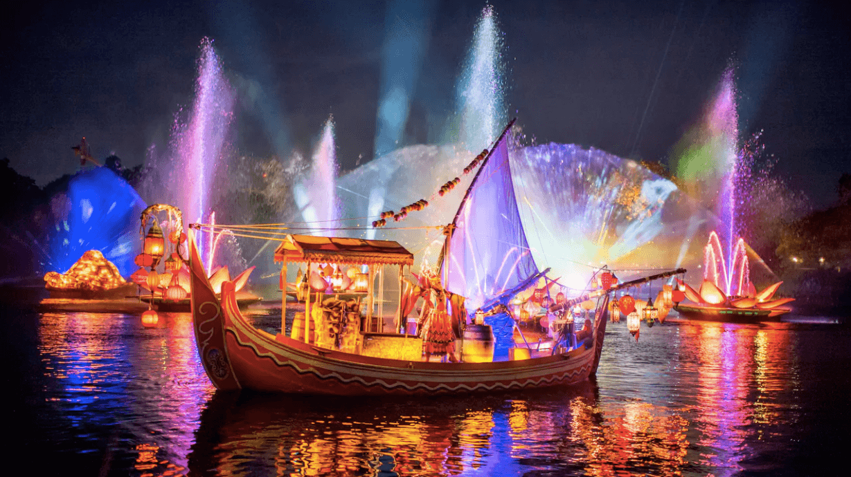 Shows da Disney em Orlando: River of Light