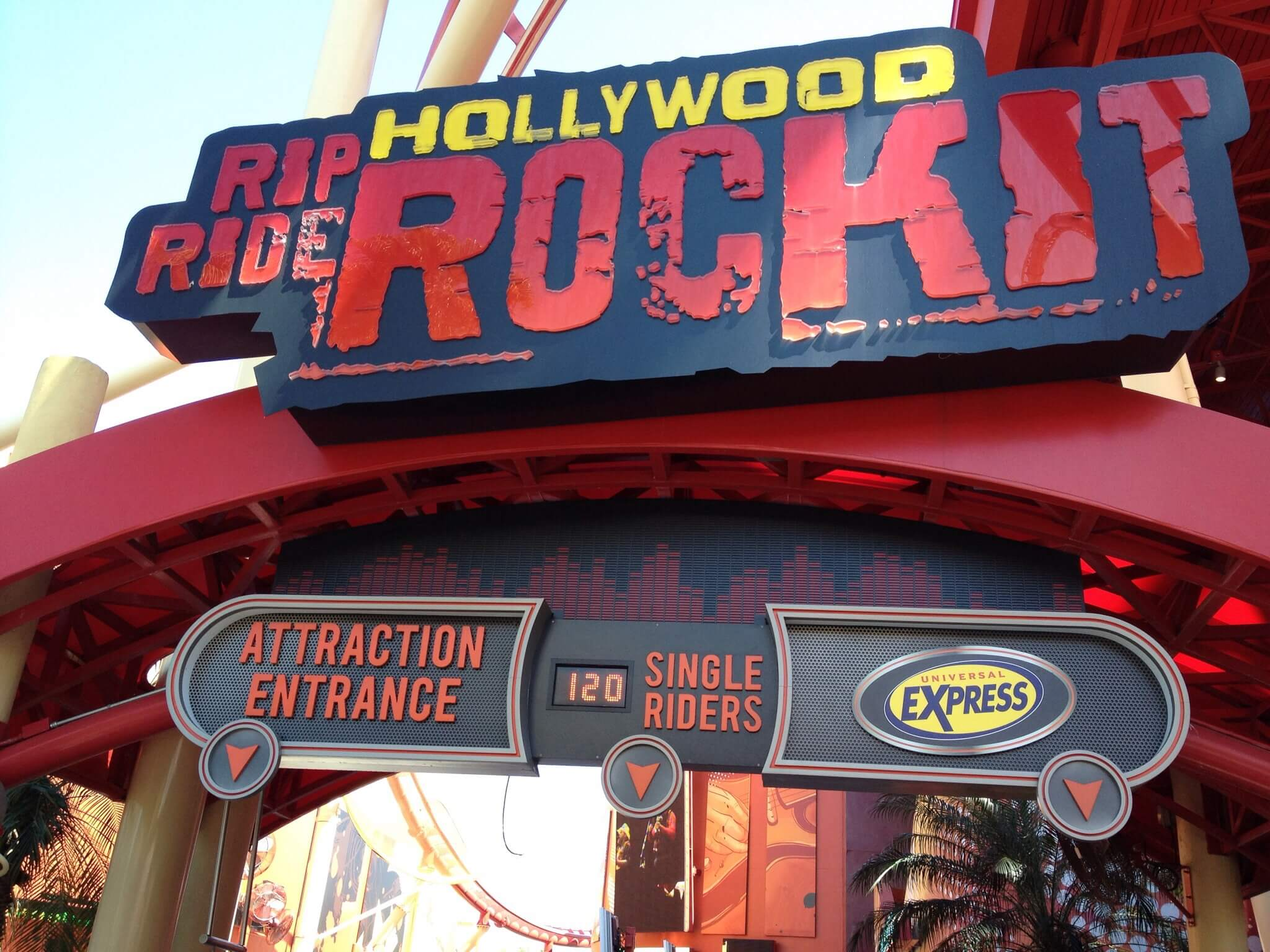 Fila Single Riders no parque Universal Studios em Orlando