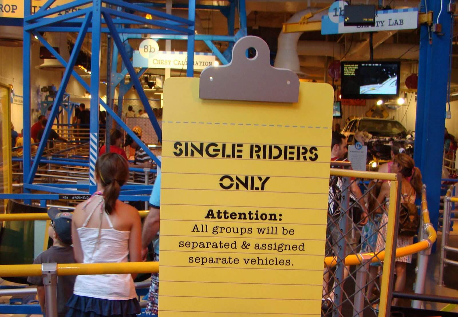 Parque Islands of Adventure Orlando: fila Single Riders