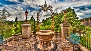 Cinderella's Wishing Well - Fonte dos Desejos
