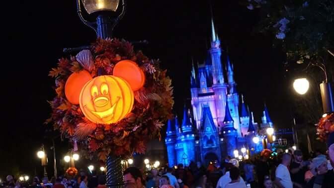 Halloween na Disney Orlando
