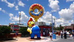 Parque dos Simpsons e Springfield em Orlando: Lard Lad Donuts