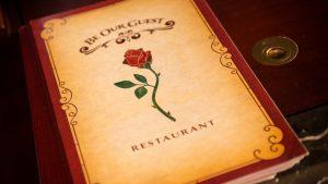 Restaurante Be Our Guest da Bela e a Fera na Disney Orlando: cardápio