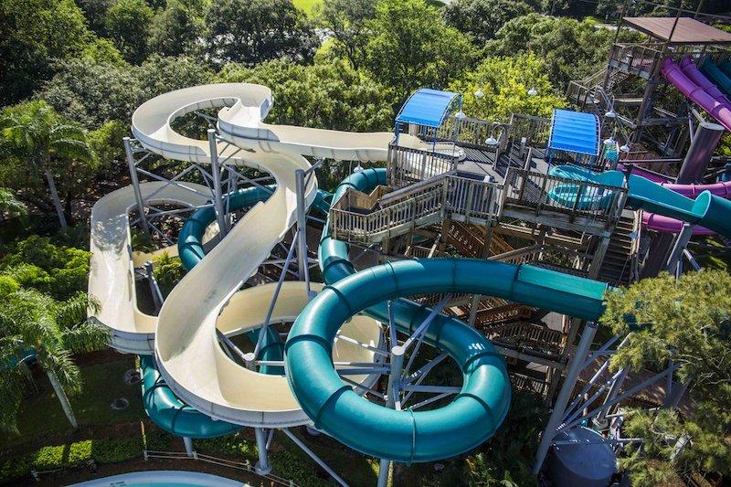 Parque Adventure Island Tampa Orlando: Calypso Coaster