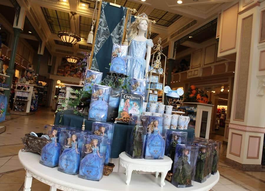 Produtos da Cinderela na Disney Orlando: boneca