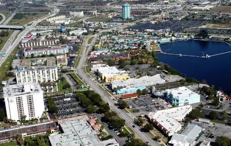 Região da International Drive em Orlando