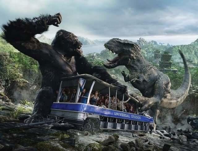 Atração do King Kong na Universal Orlando 1
