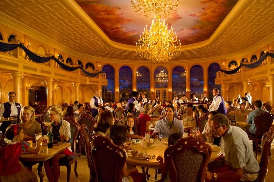 Restaurante Be Our Guest na Disney Orlando