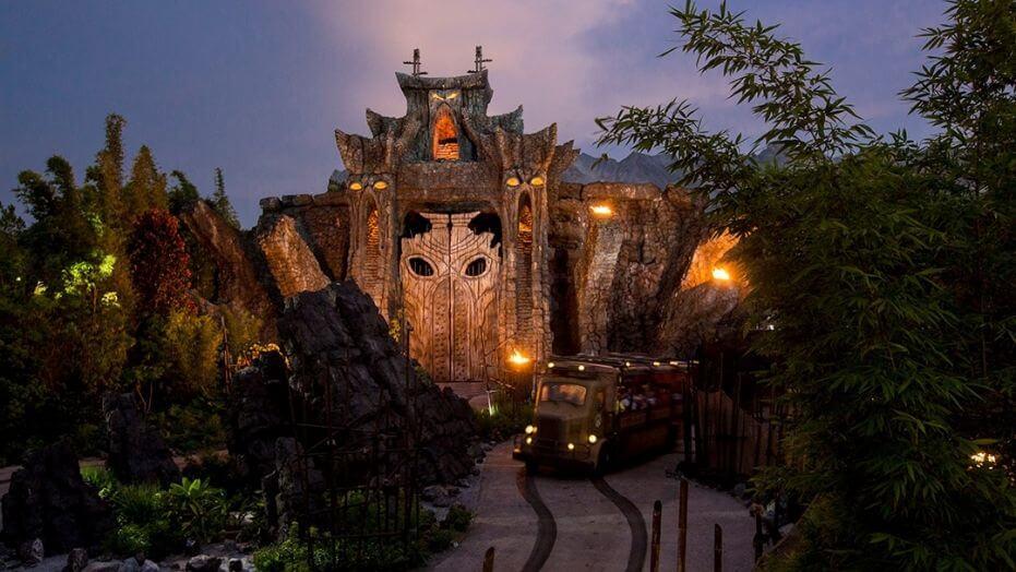 Skull Island: Reign of Kong no Parque Islands of Adventure Orlando