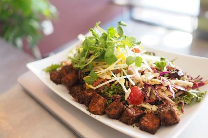 Restaurantes vegetarianos e veganos em Orlando: The Sanctum