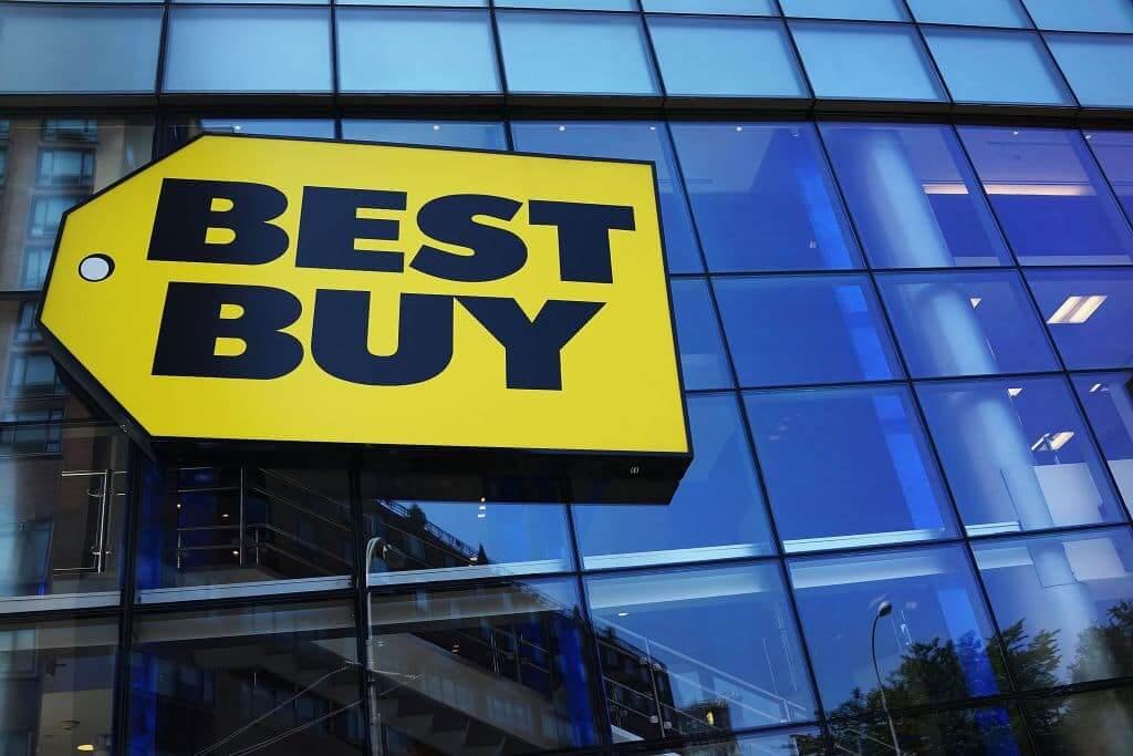 Letreiro da loja Best Buy em Orlando