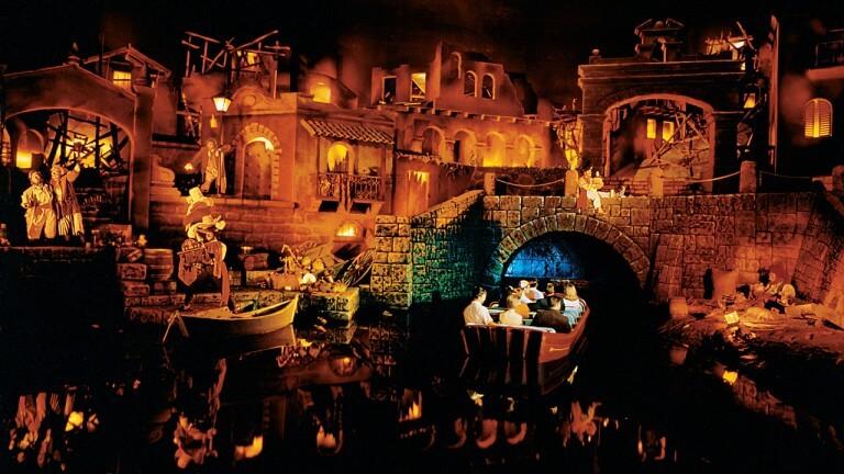 Pirates of the Caribbean no parque Magic Kingdom da Disney Orlando