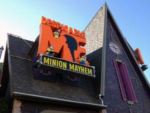 Brinquedo dos Minions na Universal Orlando: Despicable Me: Minion Mayhem