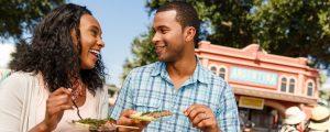 International Food and Wine Festival no Disney Epcot Orlando: comida