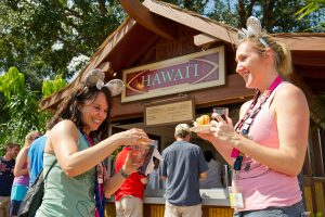 International Food and Wine Festival no Disney Epcot Orlando: Hawaii (Havaí)