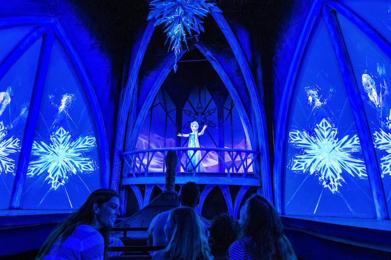 Frozen Ever After no parque Epcot da Disney Orlando