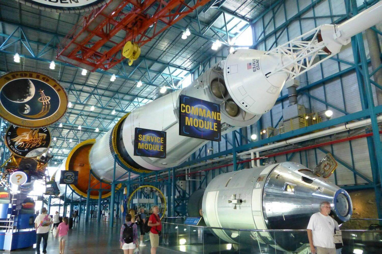 Exposição do NASA Kennedy Space Center em Orlando