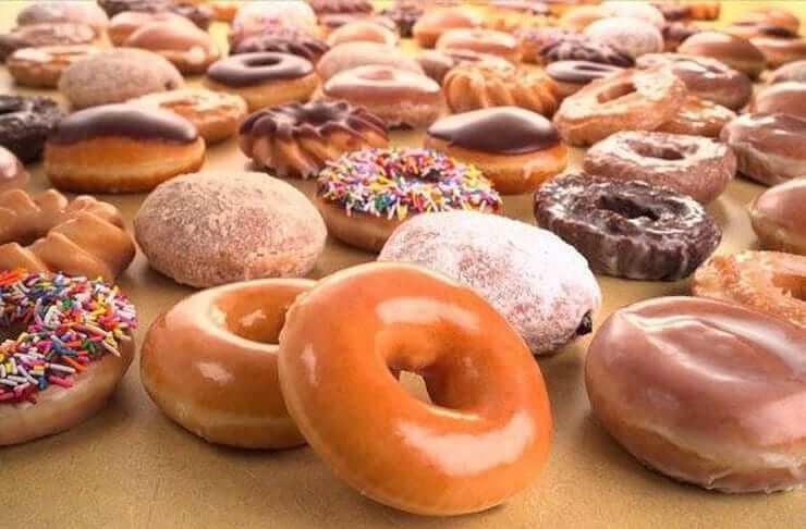 Onde comprar doces em Orlando: Krispy Kreme Doughnuts