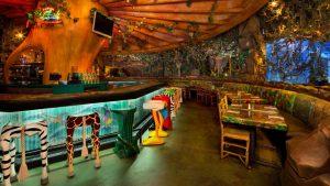Restaurante Rainforest Cafe Orlando: decoração