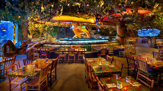 Parque Animal Kingdom da Disney Orlando: Rainforest Cafe