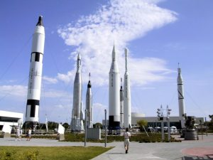 NASA Kennedy Space Center em Orlando: foguetes