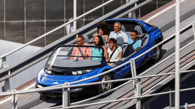 Test Track no parque Epcot da Disney Orlando