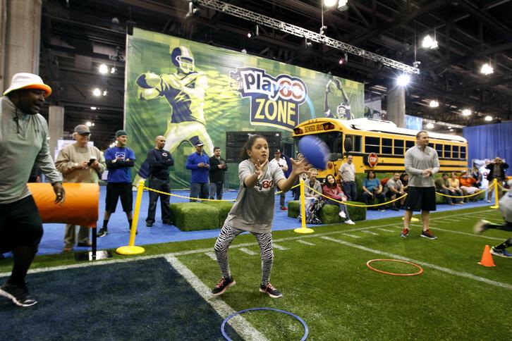 7 esportes e atividades ao ar livre em Orlando: NFL Experience em Orlando