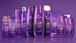 Produtos de cabelo da Aussie em Orlando: linha de produtos