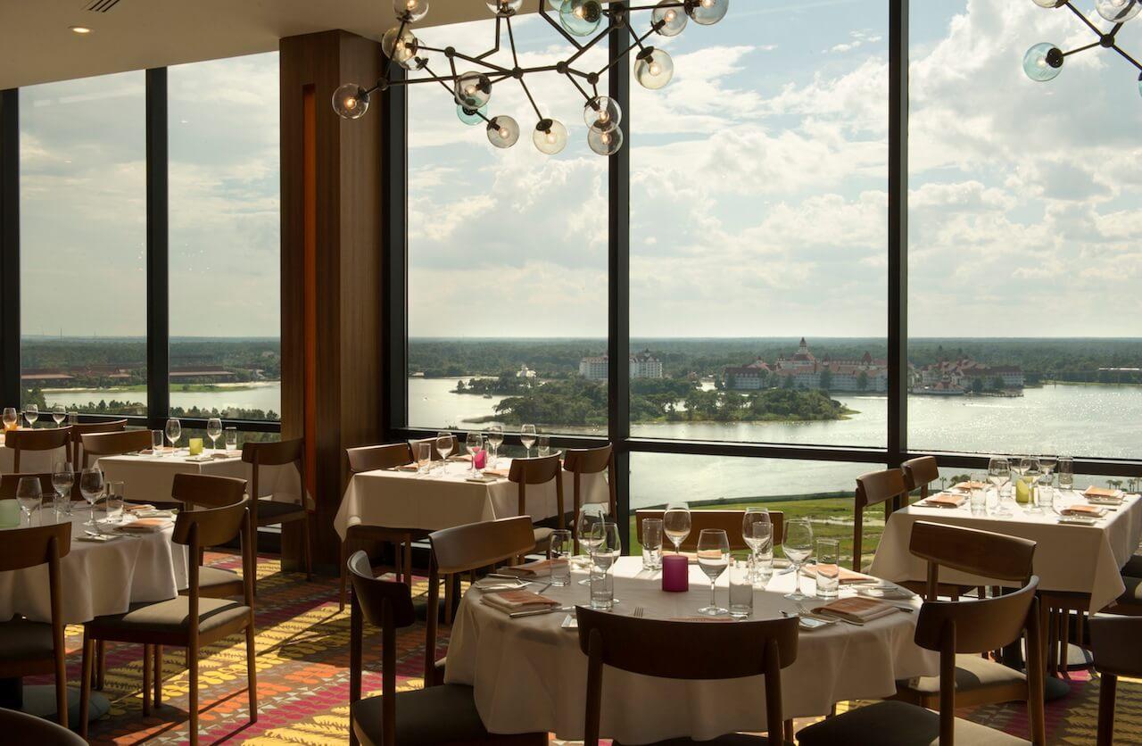 7 restaurantes de resortsno Walt Disney World Orlando 8