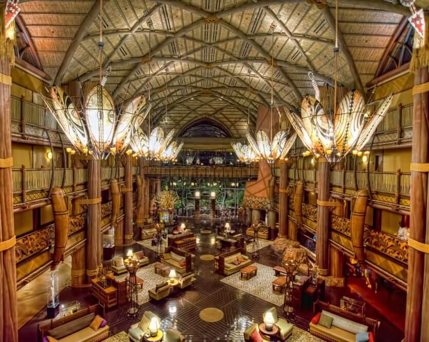 Hotel Disney Animal Kingdom Lodge em Orlando: restaurante