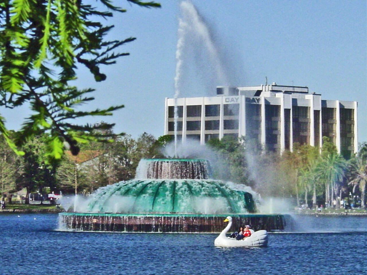 Parque Lake Eola em Orlando 1
