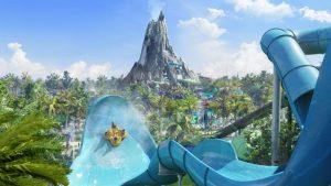 Parque Volcano Bay em Orlando: atrações
