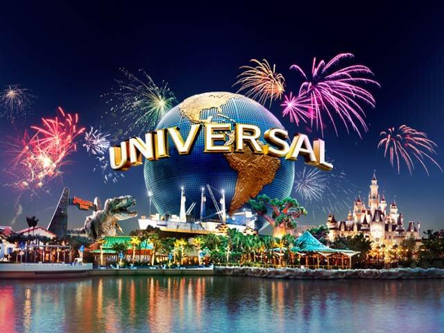 Ano Novo na Universal Studios em Orlando